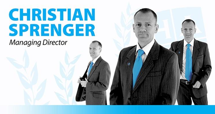 Chris Sprenger Managing Director
