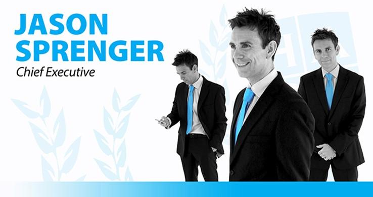 Jason Sprenger - Chief Executive