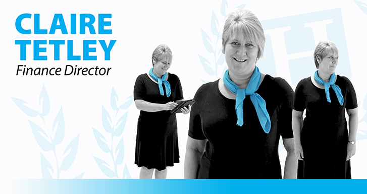 Claire Tetley - Finance Director