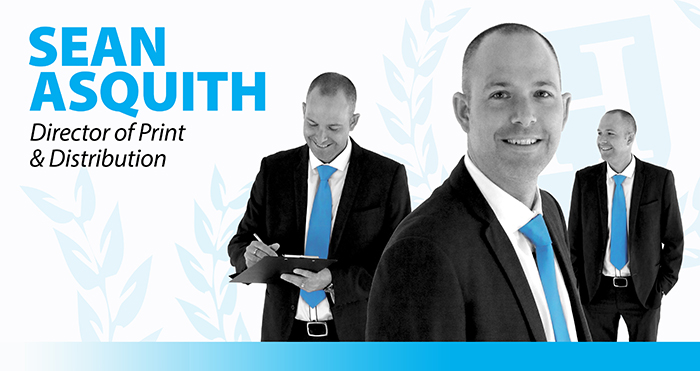 Sean Asquith - Director of Print & Distribution